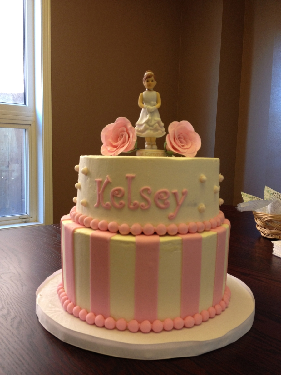 Kelsey's 1St Communion on Cake Central