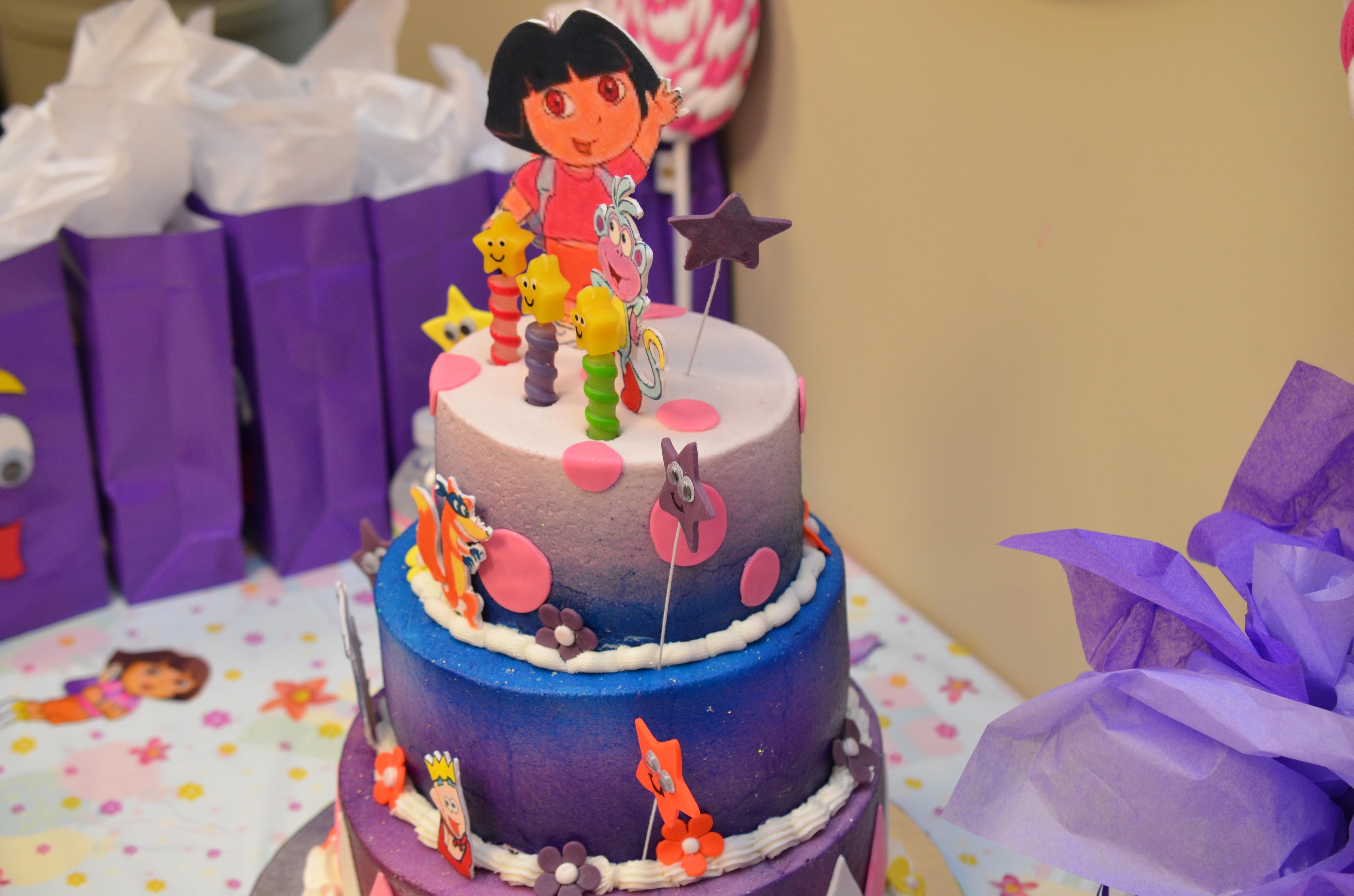 Dora Cake CakeCentralcom