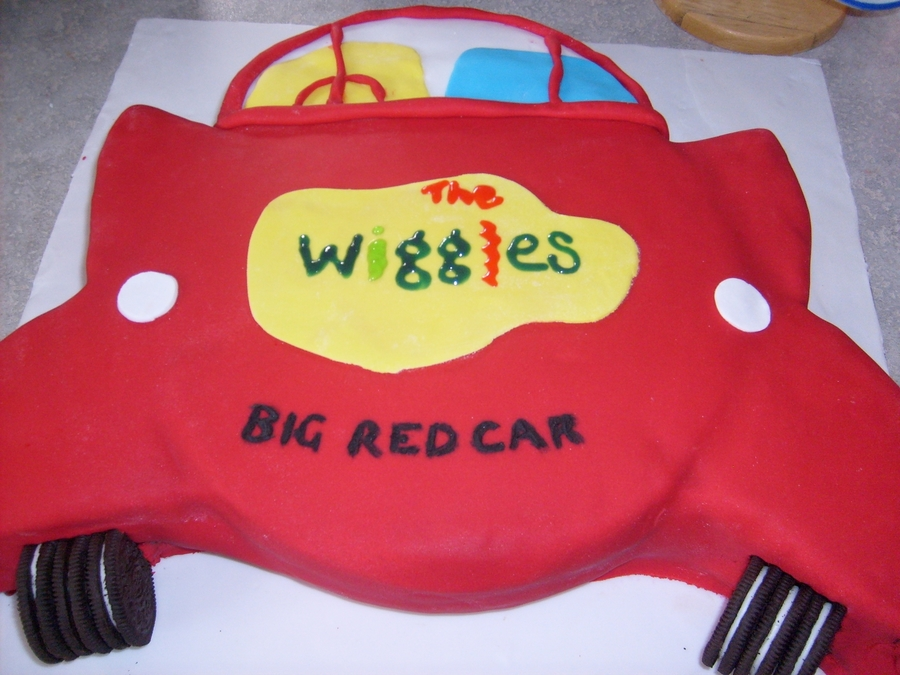 Wiggles Big Red Car Cake on Cake Central