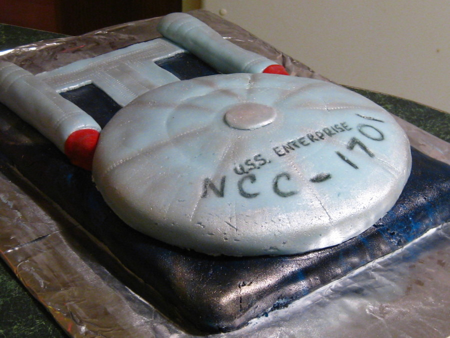How To Make Star Trek Enterprise Cake