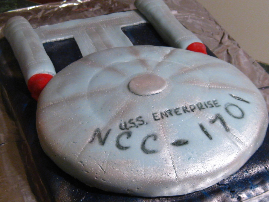 How To Make Star Trek Enterprise Cake
