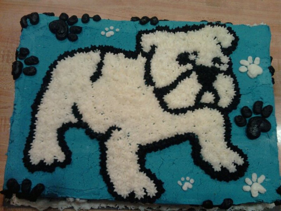 Bulldog  on Cake Central