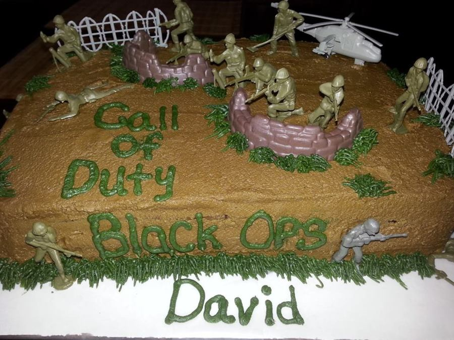 Call Of Duty Black Ops Cake on Cake Central