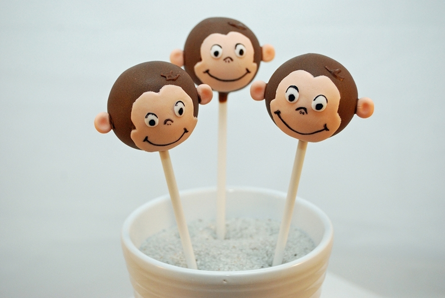 Curious George Cake Pops on Cake Central