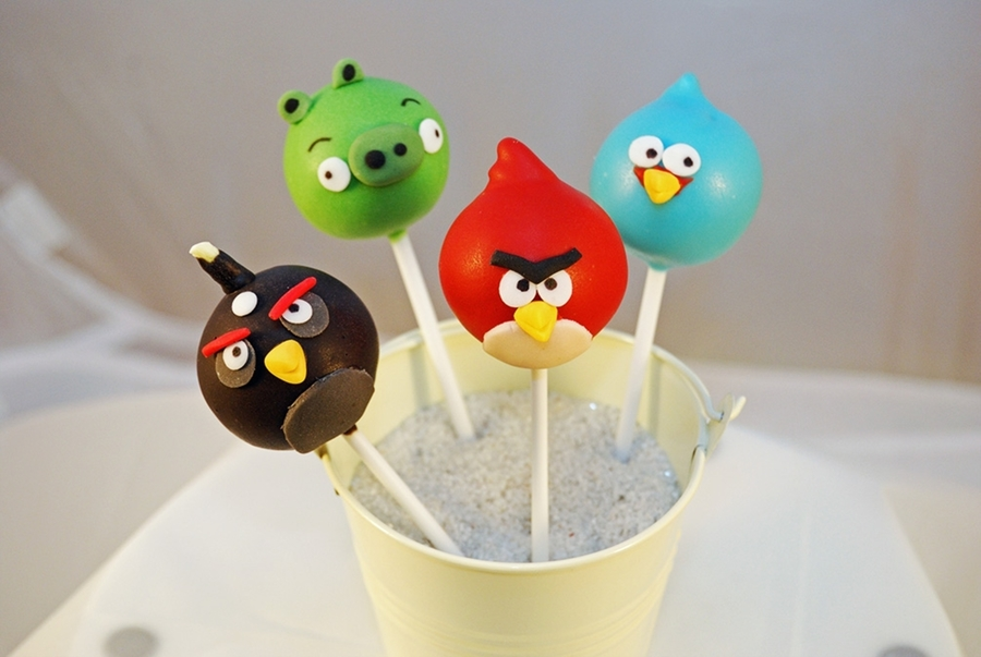 Angry Birds!  on Cake Central