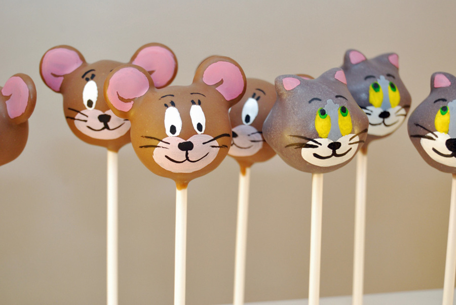 Tom And Jerry Cake Pops on Cake Central