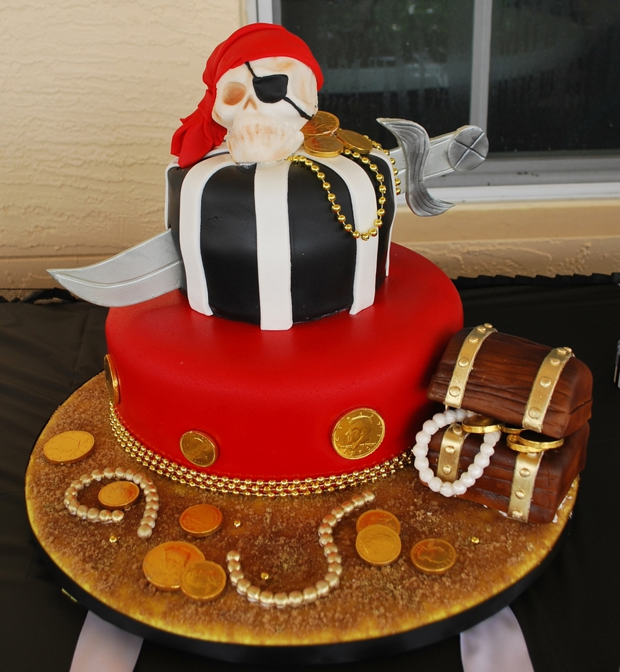 Pirates Cake on Cake Central