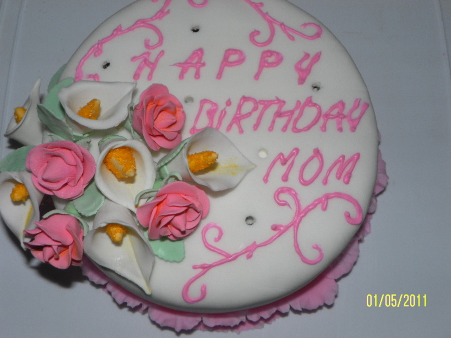 Cake Design For Mother In Law : Mother In Law Birthday Cake - CakeCentral.com