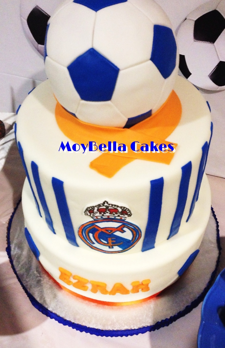 real madrid cake real madrid soccer cake cakecentral 6971