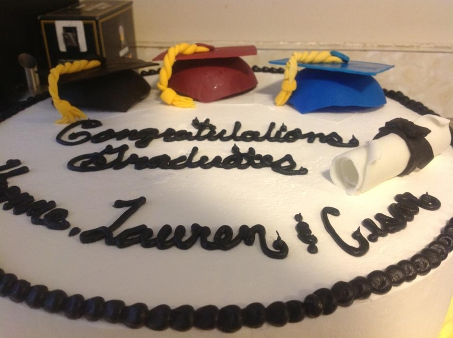 Graduation Hat Cake on Cake Central