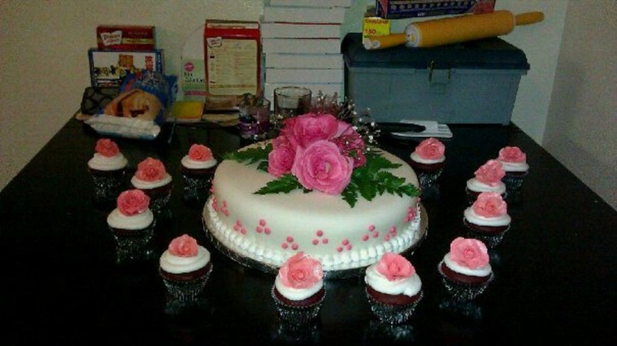 Birthday Cake With Roses on Cake Central