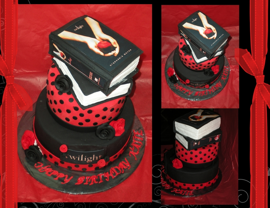 Remarkable Twilight Birthday Cake Cakecentral Com Funny Birthday Cards Online Overcheapnameinfo