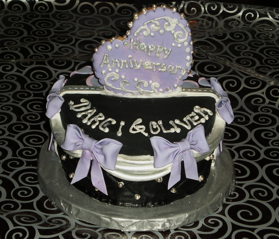 Half Anniversary Half Birthday Cake CakeCentralcom