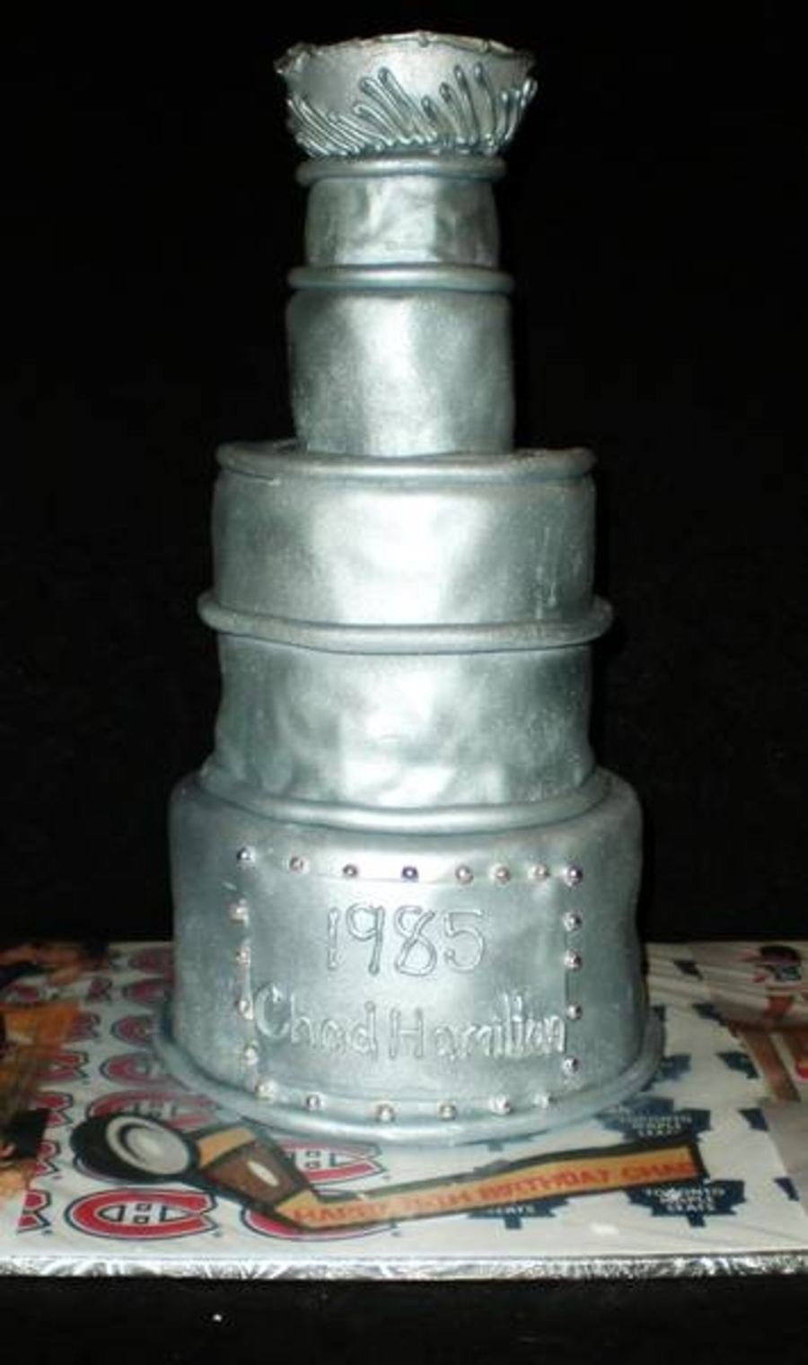Stanley Cup Birthday Cake on Cake Central