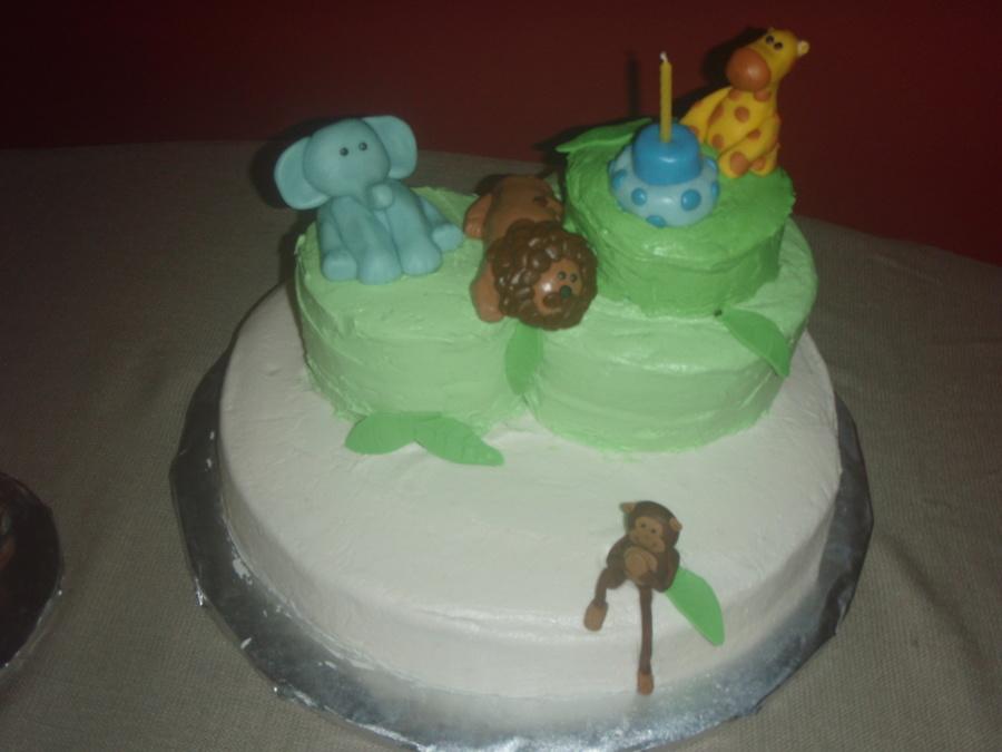 Safari 1st Birthday Cake Cakecentral