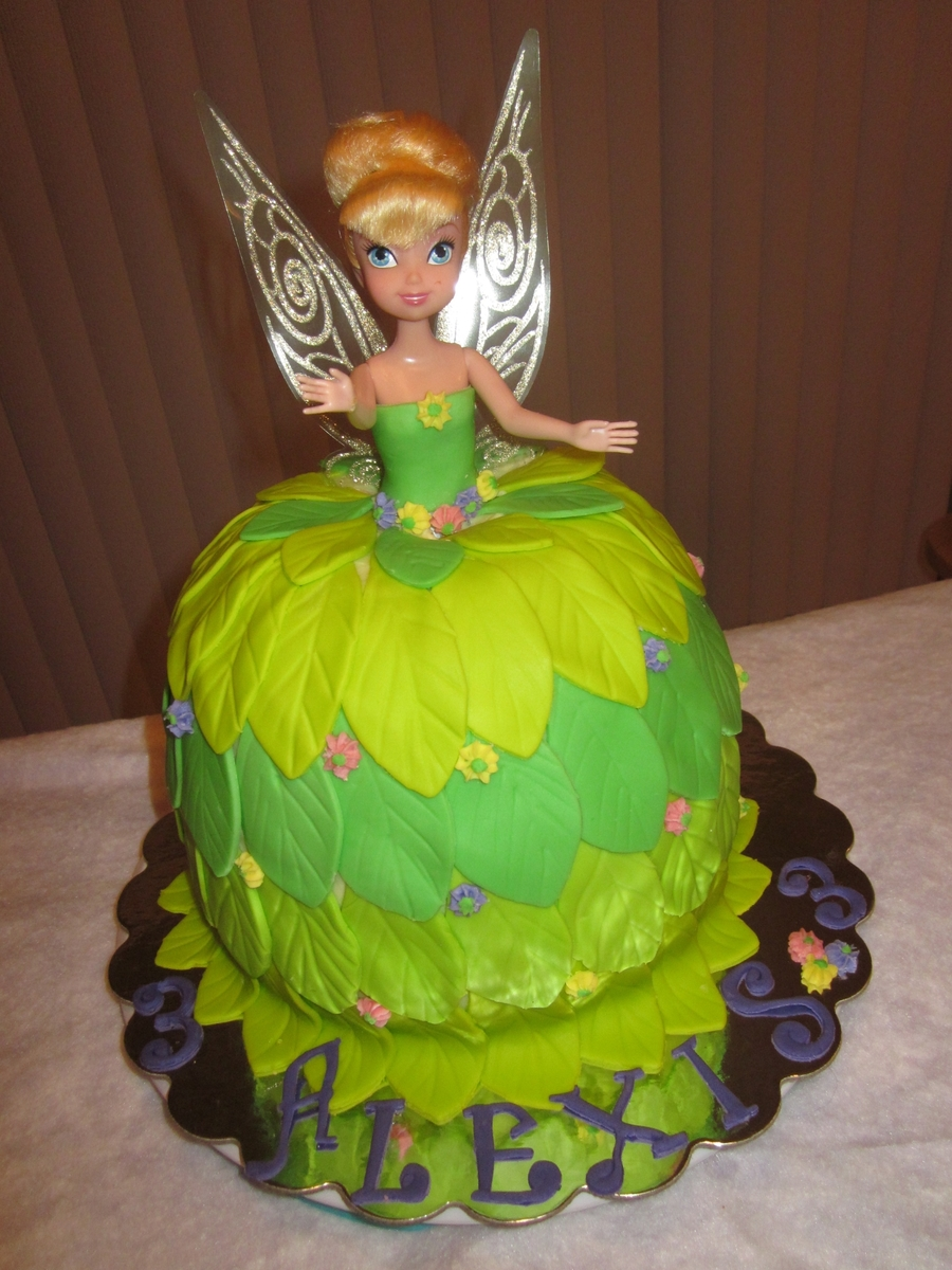 Tinkerbell Doll Cake on Cake Central
