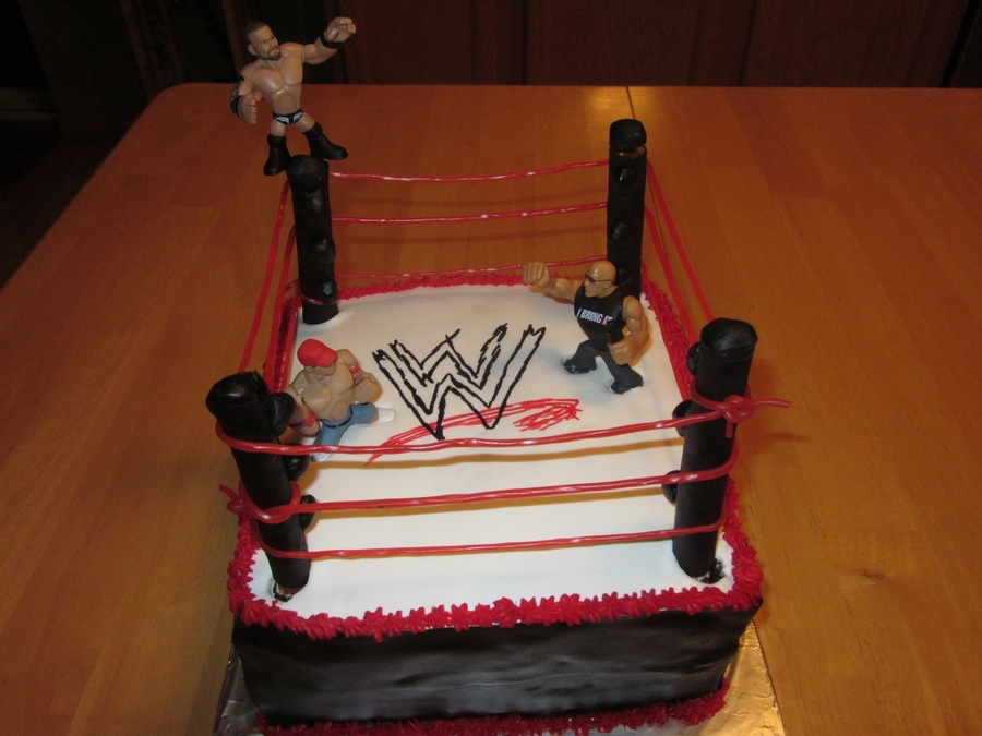 Wwe Birthday Cake on Cake Central