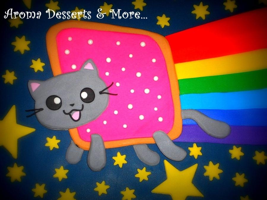 Nyan Cat Birthday Cake Recipe