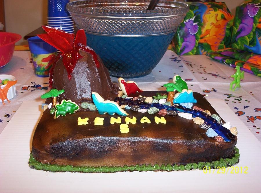 Dino Cake Cakecentral Com