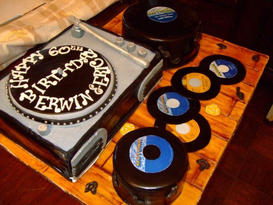Motown Birthday Cake