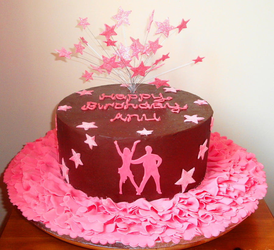Birthday Cake Ideas For Dancer