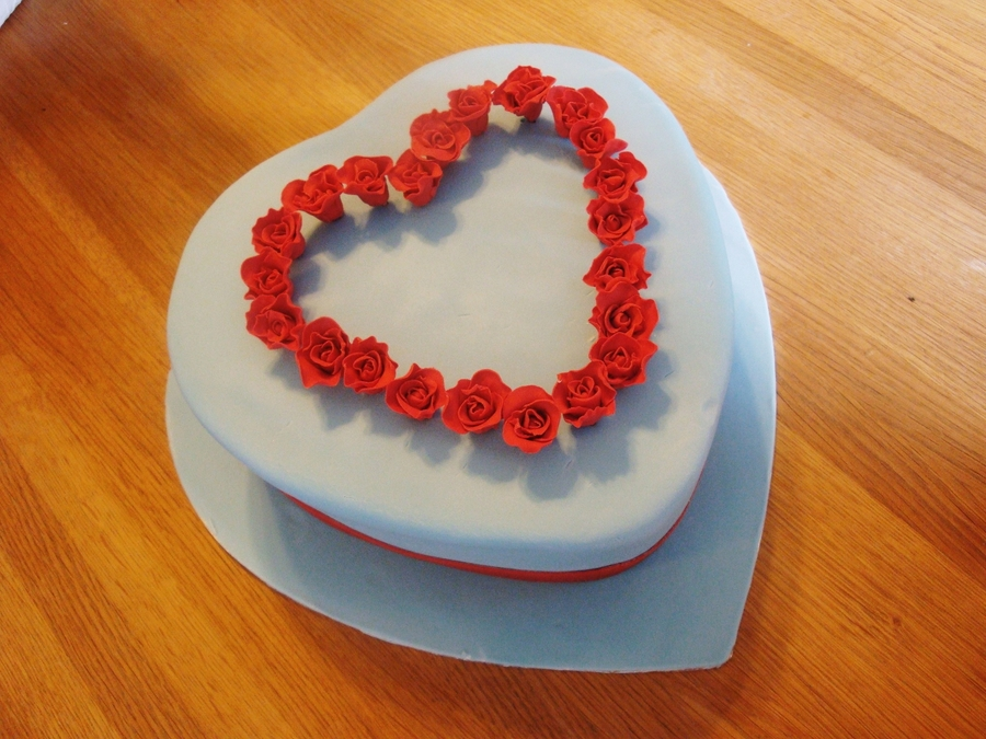 Valentine's Cake For My Sweetheart on Cake Central