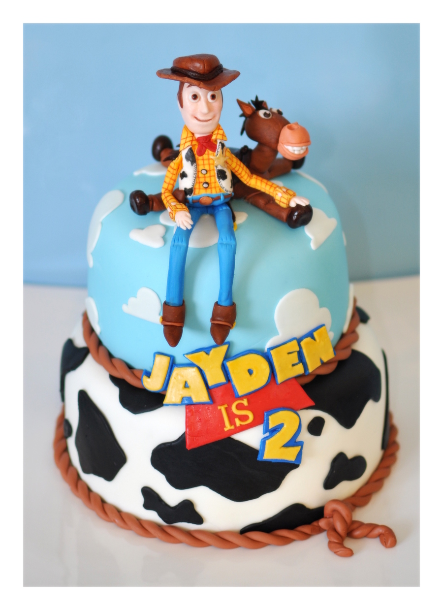 Woody And Jessie Toy Story Cake