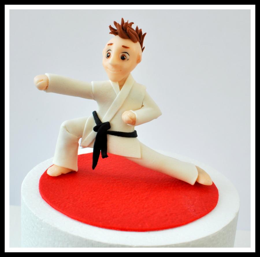Karate Kid Birthday Cake