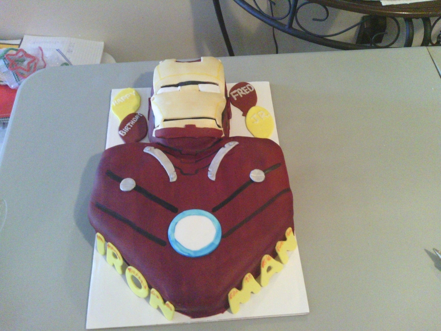 Iron Man Cake on Cake Central