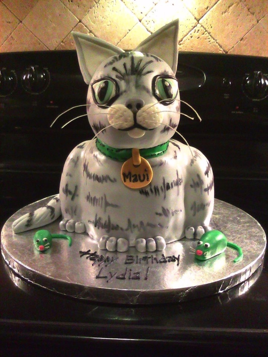 Maui Kitty Cake Cakecentral