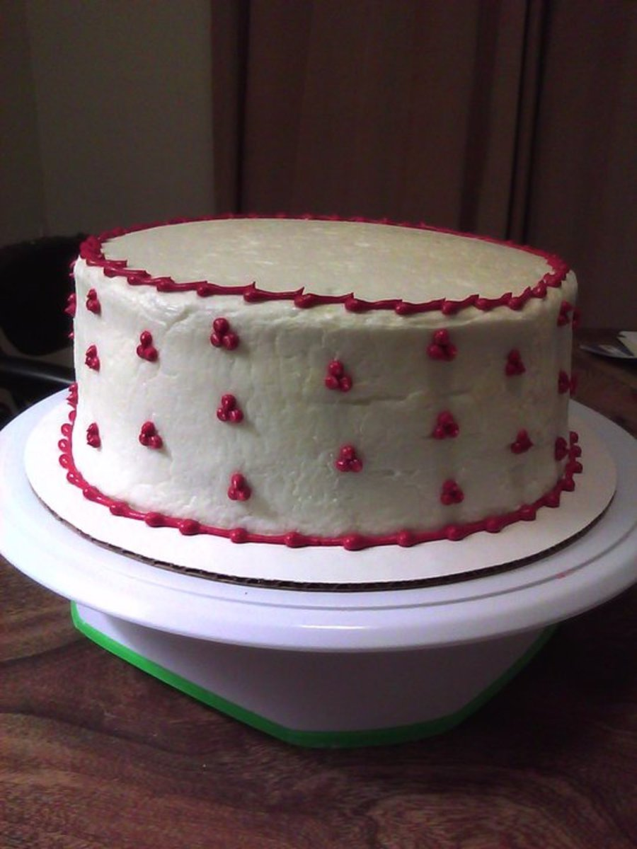 Simple Red Velvet on Cake Central