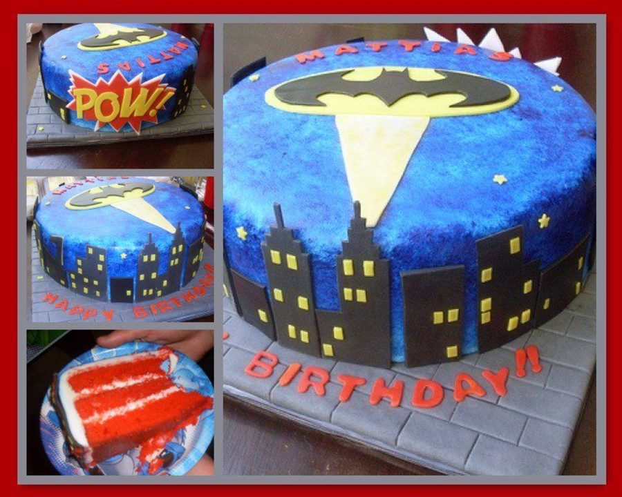 Matti's Batman Cake on Cake Central