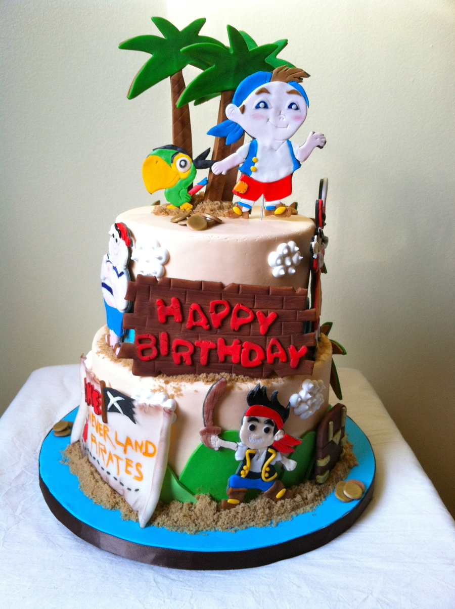 Birthday Cake Jake Pirate