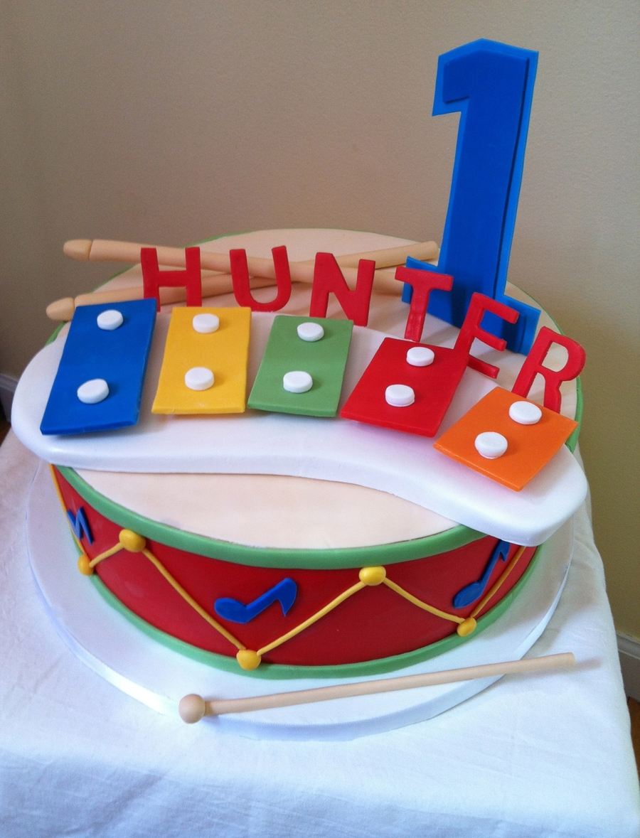 Birthday Cake Ideas Music : Musical Themed Cake - CakeCentral.com