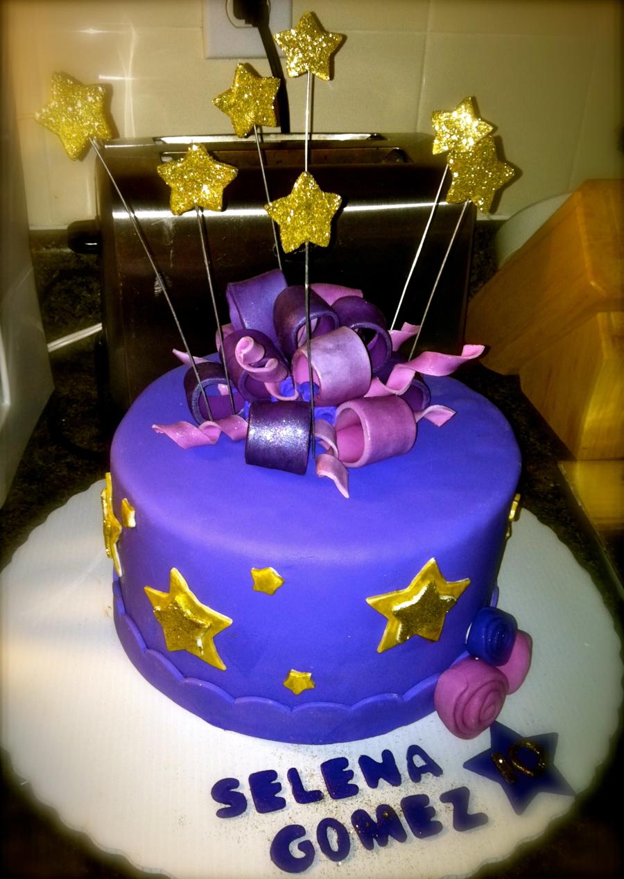 Selena Gomez 10th Birthday Cake Cakecentral
