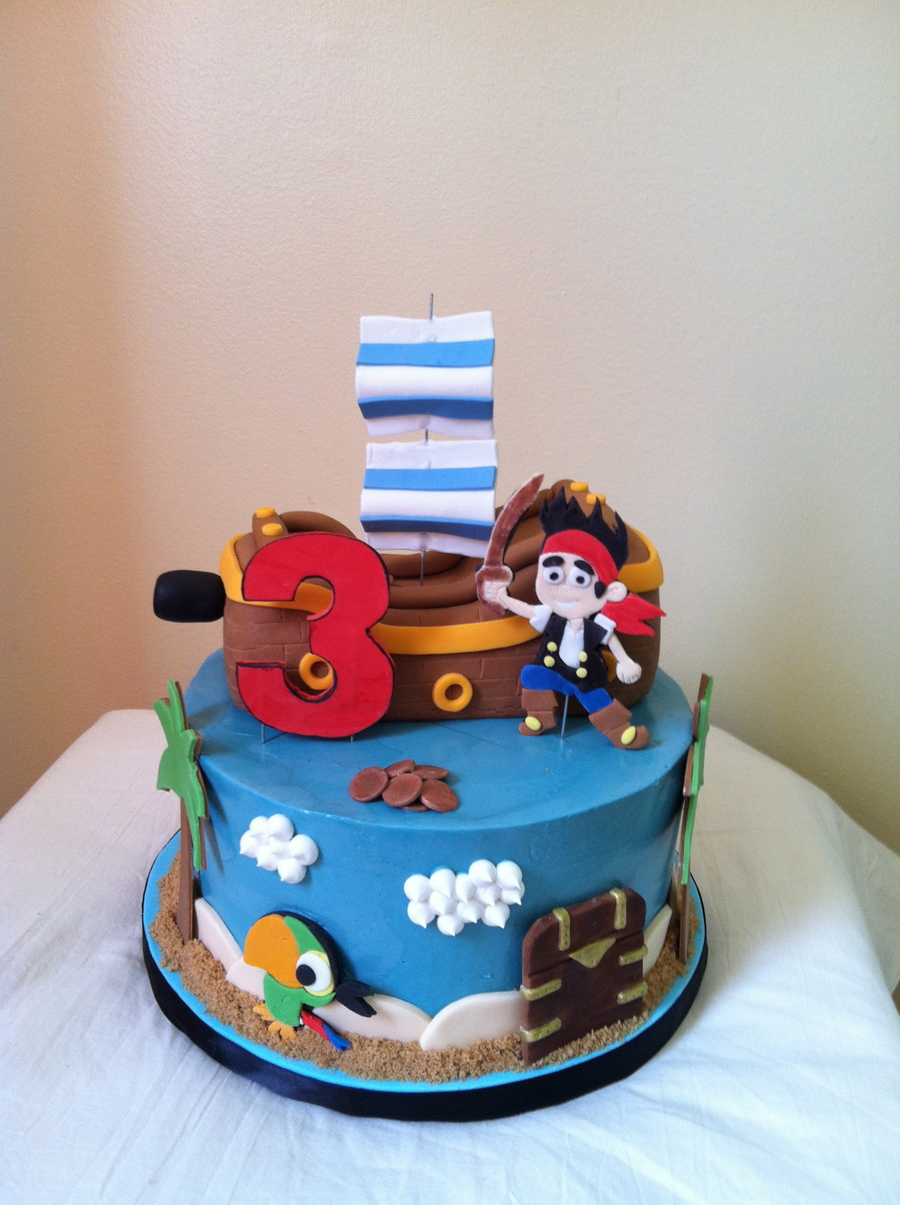 jake and the neverland pirates tiered cake - photo #35