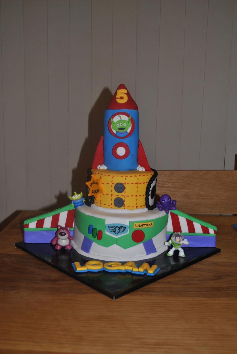 Buzz Rocket Cake