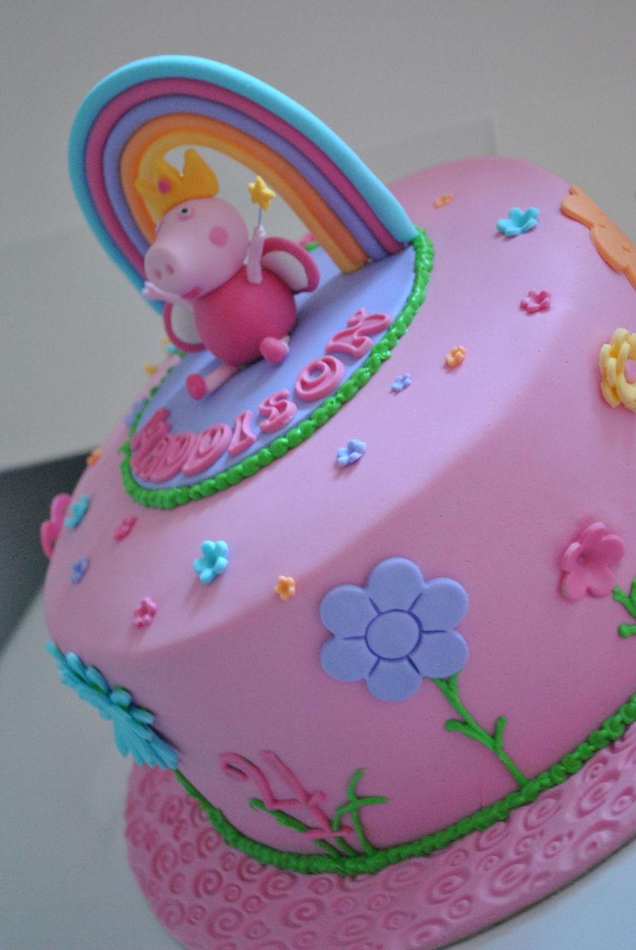 Peppa Cake Topper