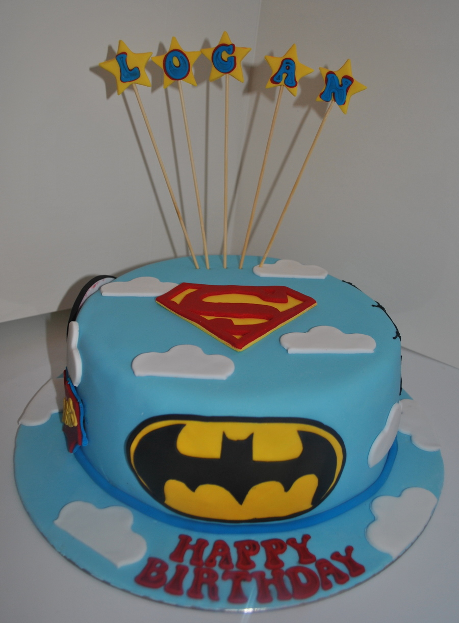 Superman Cake Recipe