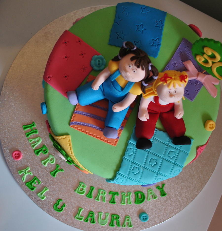 Cabbage Patch Kid 30Th Birthday Cake