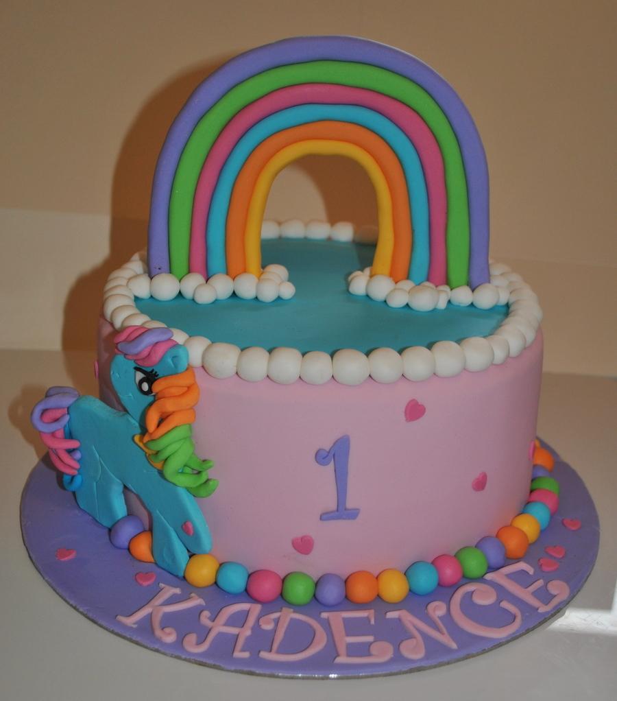 My Little Pony Rainbow Dash Cake - CakeCentral.com
