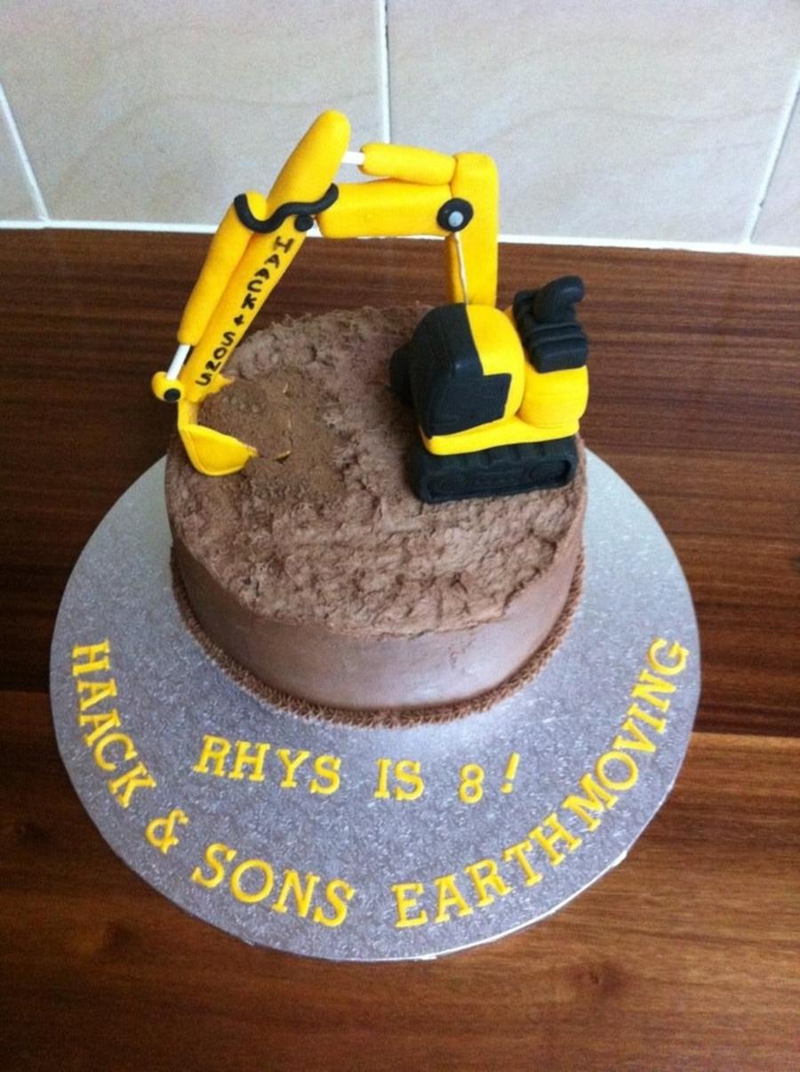 Excavator Cake Cakecentral Com