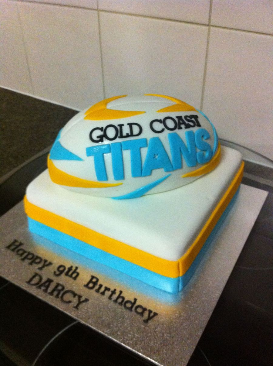 Gold Coast Titans Cake on Cake Central