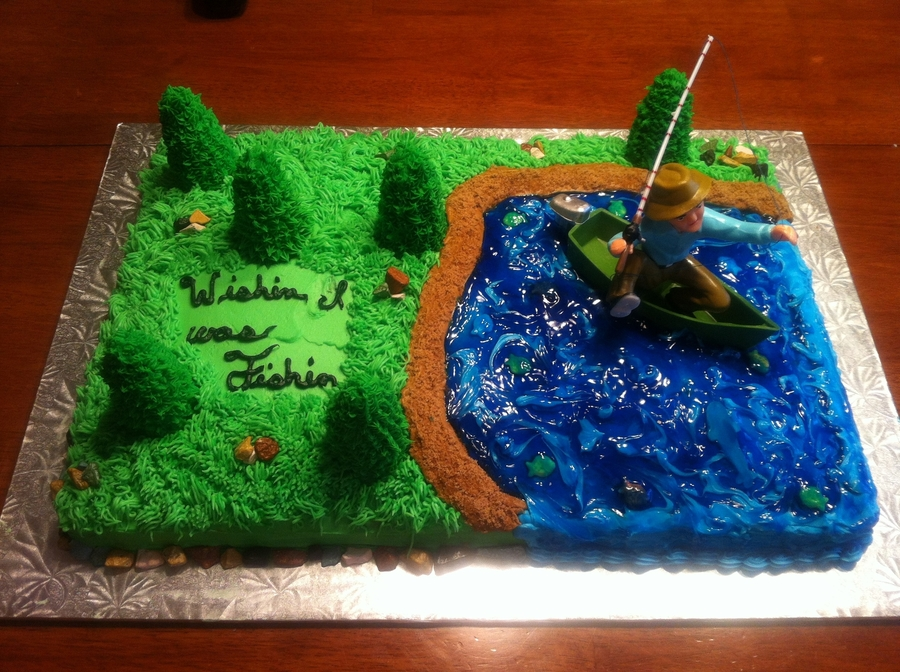 Fisherman on Cake Central