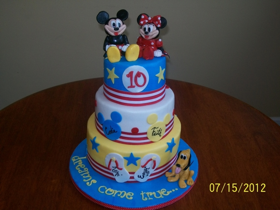 Disney Dreams on Cake Central