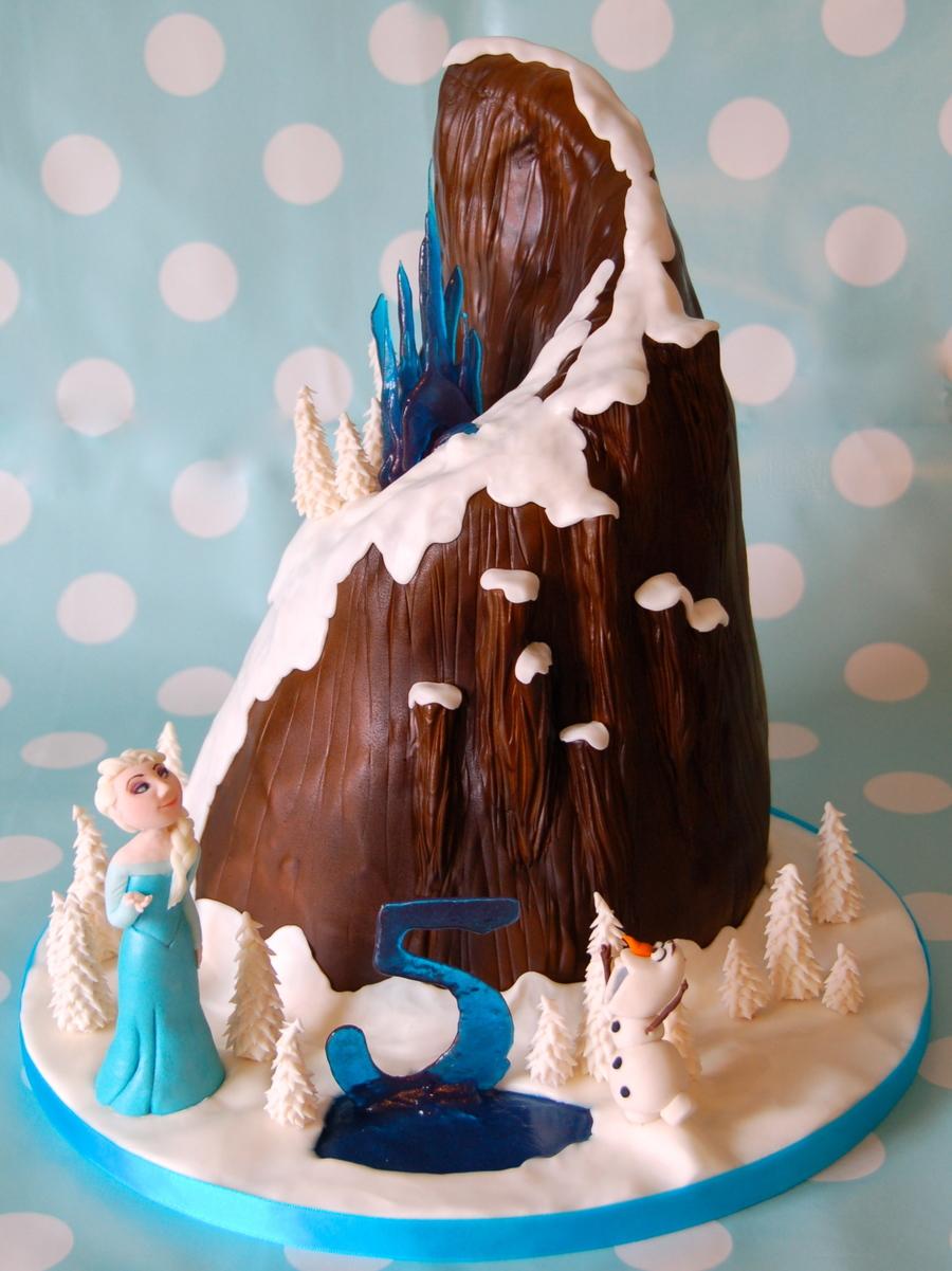 Frozen Mountain Cake Cakecentral Com