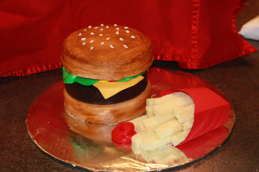 A Whopper Of A Cake on Cake Central