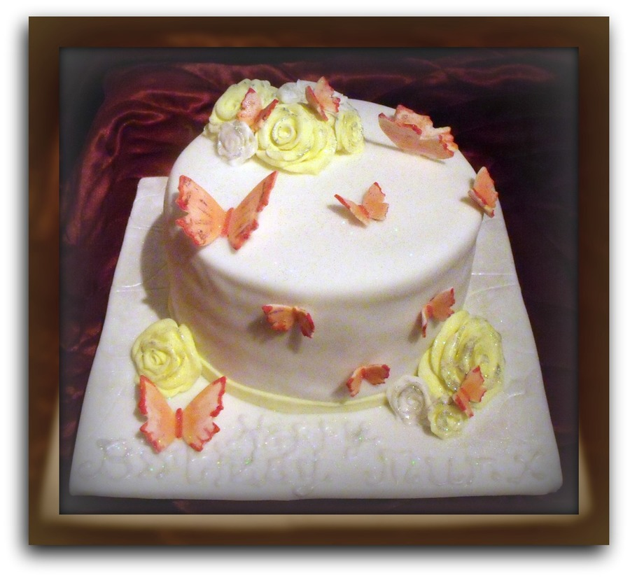 Autumn Butterfly on Cake Central