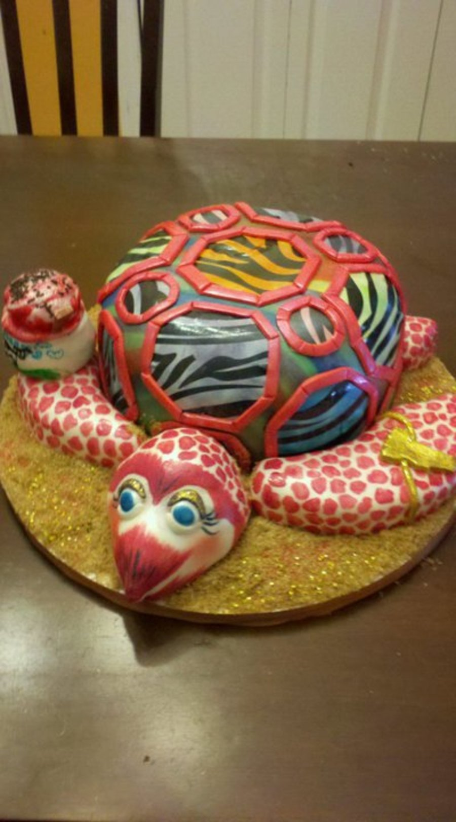 Super Rad 80's Sea Turtle...from Vermont. :) on Cake Central