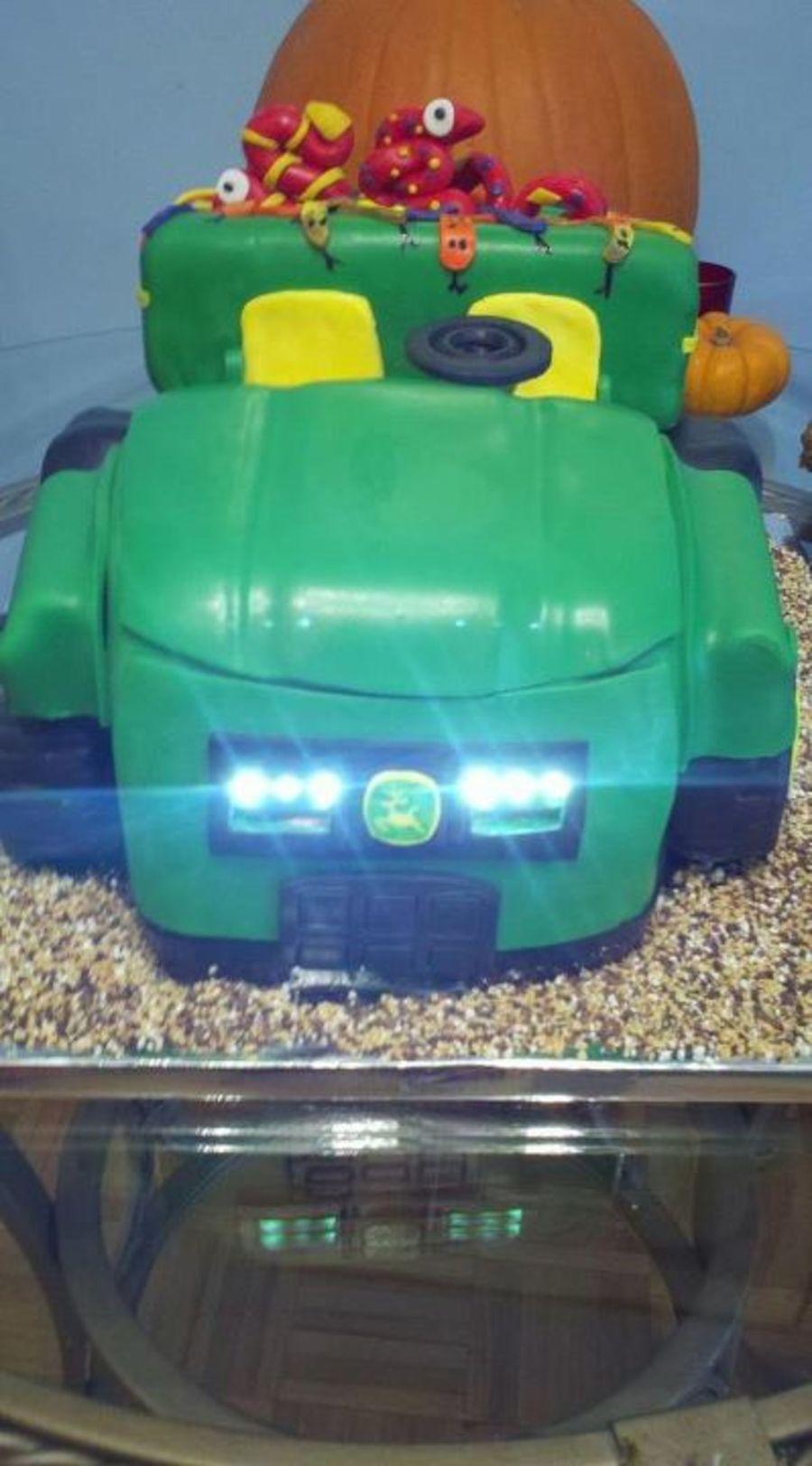 John Deere Gator Headlights : Working led headlights john deere gator cakecentral